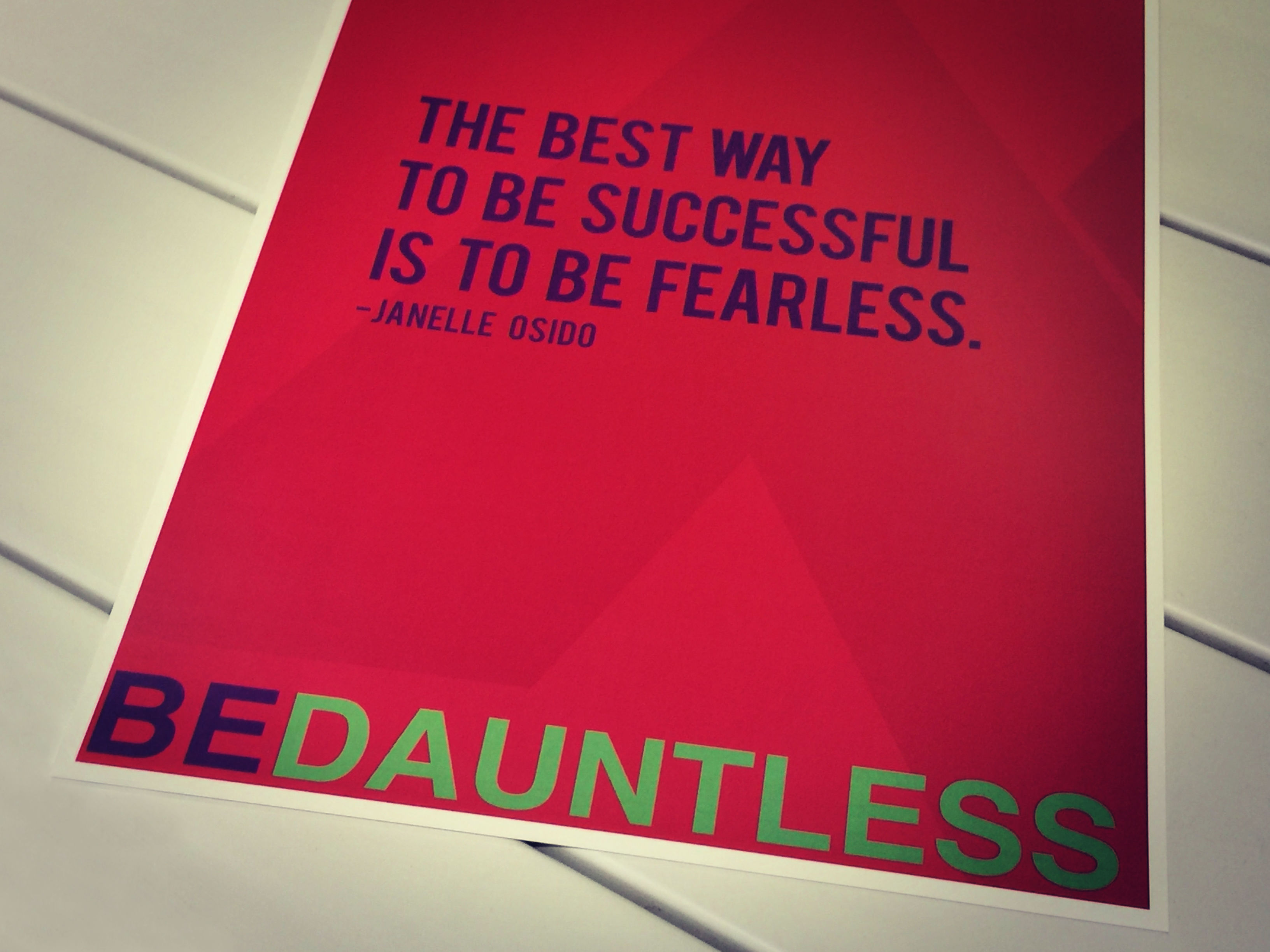 Be Dauntless