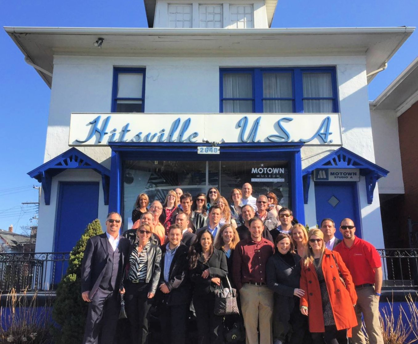 MadAveGroup at Motown Museum